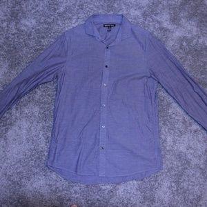 Michael Kors   Long Sleeve Button Down Dress Shirt